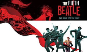 Art from The Fifth Beatle graphic novel.