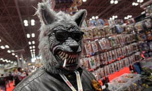 Jeffrey Quante, as Teen Wolf attends New York Comic Con