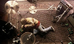 Michael Pitt in Last Days, which imagined the life of a rock star based on Kurt Cobain