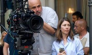 Harris Savides with Sofia Coppola