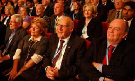 Conservative party conference delegates 2012