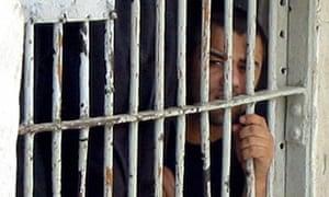An Iraqi prisoner in Basra in 2004