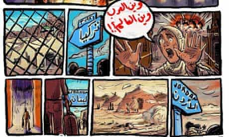 'Where are the Arabs? Where is the world?'