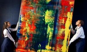 Gerhard Richter, Abstraktes Bild (809-4)