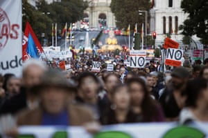 Global Noise Protests: Anger over austerity and debt - Madrid