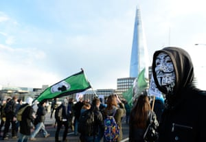 Global Noise Protests: Occupy London Stock Exchange anniversary