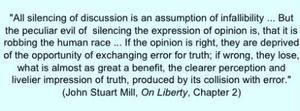 mill free speech