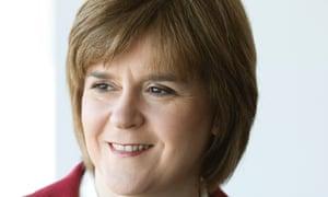 Nicola Sturgeon, Scotland's deputy first minister