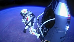 Skydive: Red Bull Stratos Attempts Record Freefall Jump