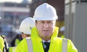 Cameron at Rosyth