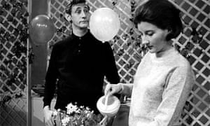 Gordon Rollings and Phyllida Law in Play School, 1964