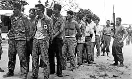 Bay of Pigs captured rebels 1961