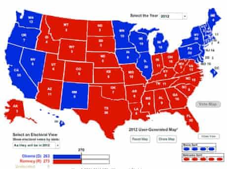 Ohio electoral map