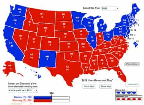 Nevada electoral map