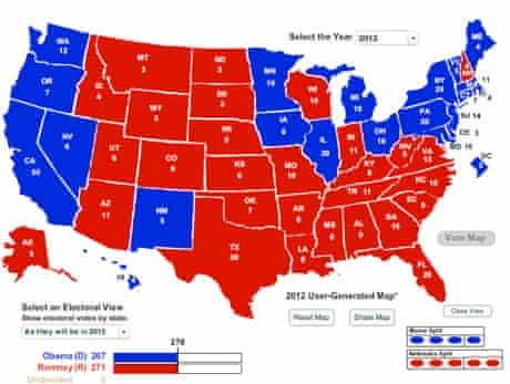Wisconsin electoral map