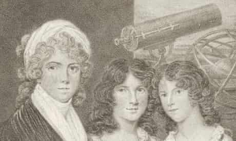Margaret Bryan and her daughters