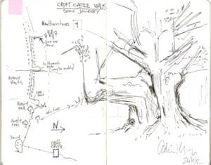 Adrian Utley Sonic Journey map