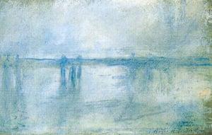 Rotterdam paintings: 'Charing Cross Bridge, London' by Claude Monet, 1901