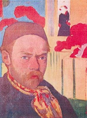Rotterdam paintings: 'Self-Portrait' by Meyer de Haan, 1890