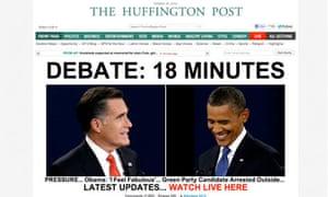 HuffPost debate countdown