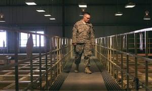 The Parwan detention centre near Bagram airbase