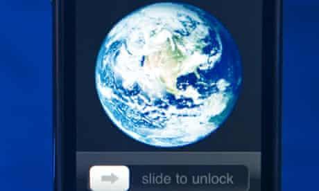 world on iphone
