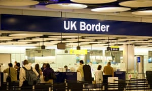 Heathrow airport border control