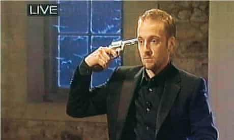 Derren Brown plays Russian roulette on live TV