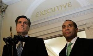 Mitt Romney, Deval Patrick