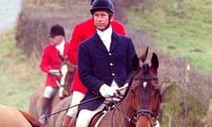 Prince Charles with Meynell hunt, 1999