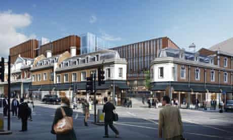 Plans for Smithfield market