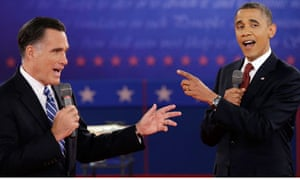 Obama Romney second debate