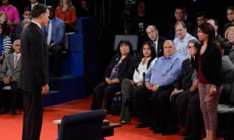 Romney answers immigration question