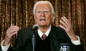 American evangelist Billy Graham