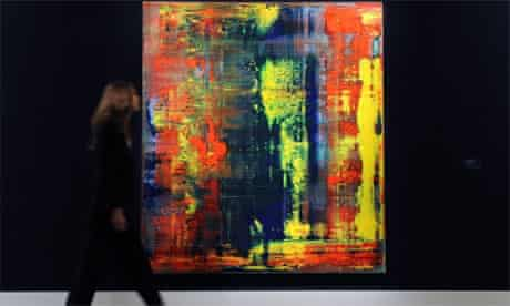 Gerhard Richter painting sold at Sotheby's