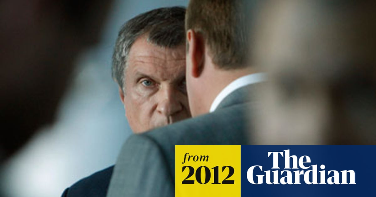 Igor Sechin: Rosneft's Kremlin hard man comes out of the