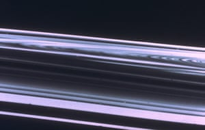 Voyager: Saturn's rings before Voyager spacecraft