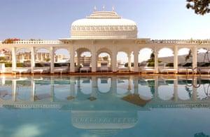 Bond locations: The Taj Lake Palace, Lake Pichola, India