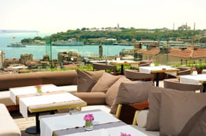 Bond locations: The Georges Hotel, Istanbul