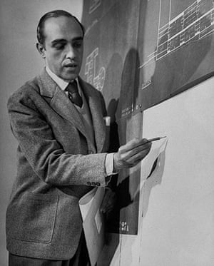 Oscar Niemeyer: Niemeyer discussing the design for the United Nations headquarters