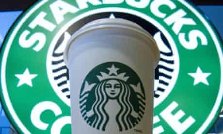 Starbucks logo and cup