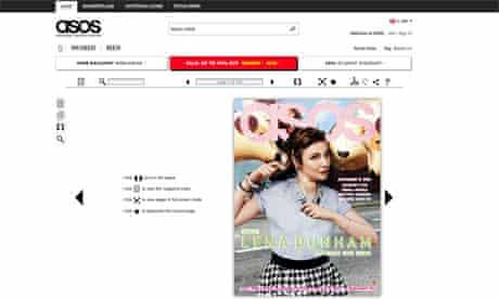 asos magazine nov 2012