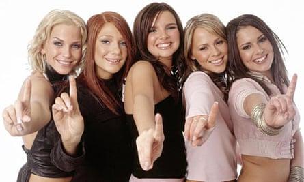 Girls Aloud in 2002