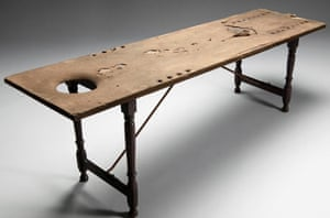 18/19th century dissecting table