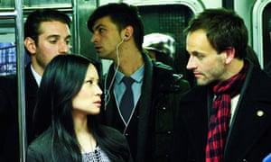 Jonny Lee Miller as Holmes and Lucy Liu as Watson in Elementary