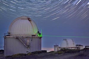 A month in space: Stabilising laser