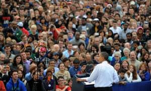 Barack Obama explains the symptoms of Romnesia