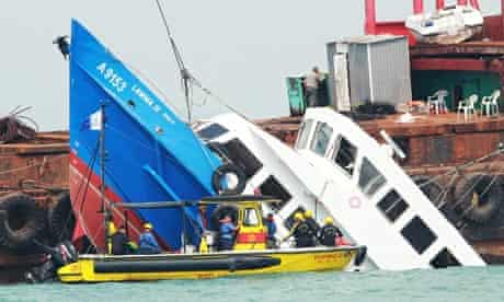 Rescue Operation Under Way After Boat Collision Kills 36 Passengers