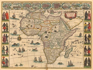 Africa map: Africa map: Blaeu