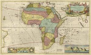 Africa map: Africa map: Moll